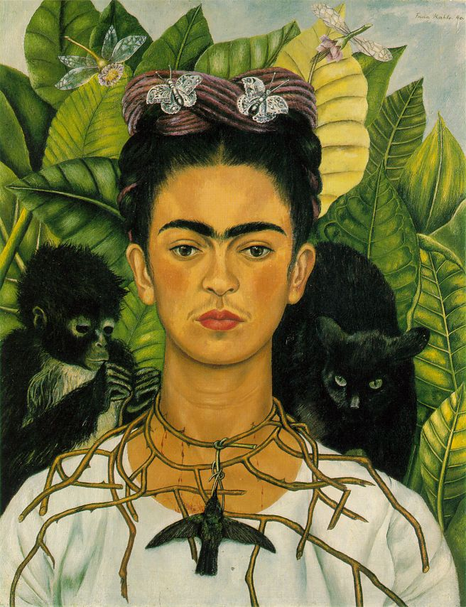 Frida kahlo-autoritratto-1940